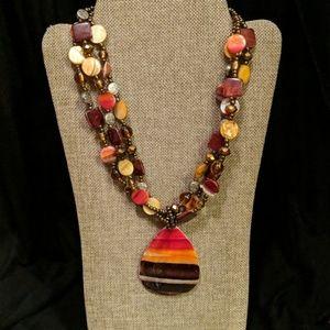 Hawaiian Statement Necklace